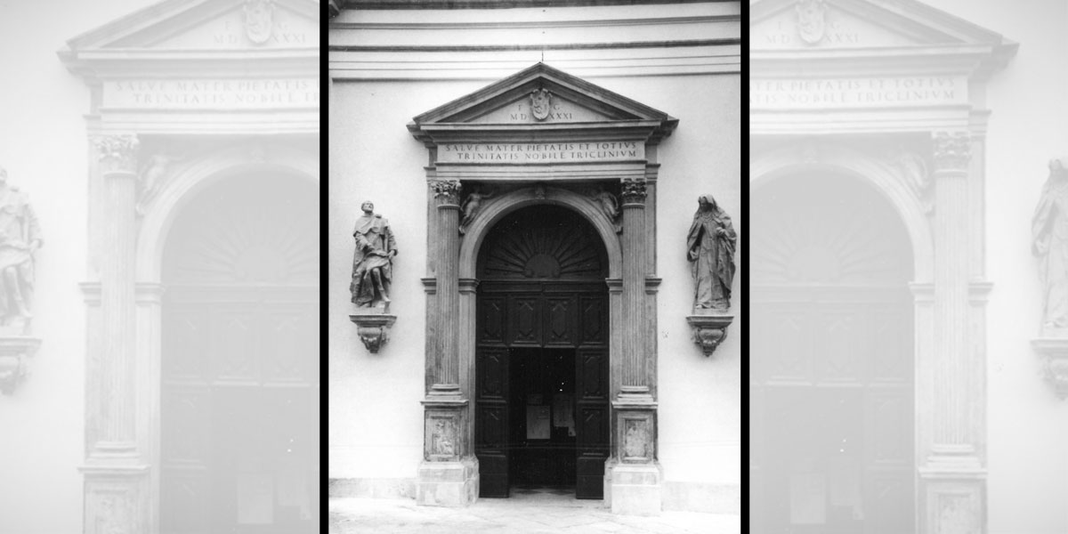 1994 giugno – Statue della Chiesa dei Servi di Vicenza