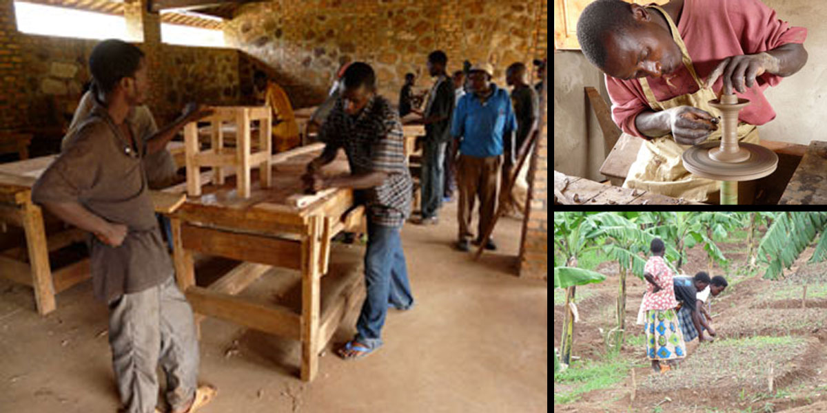 2010 – Progetto Burundi: scuola dei mestieri