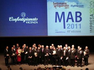 Il gruppo dei premiati 2011