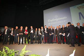 I premiati dello scorso anno