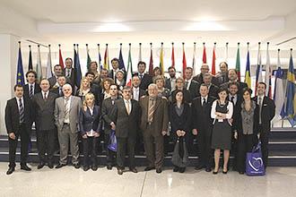 Il gruppo dei Giovani Imprenditori Confartigianato in visita a Bruxelles