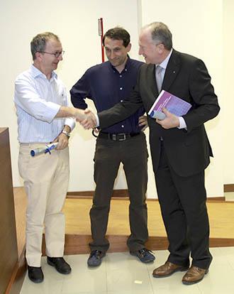Luigi De Tommasi, Graziano Zorzetto e Claudio Miotto
