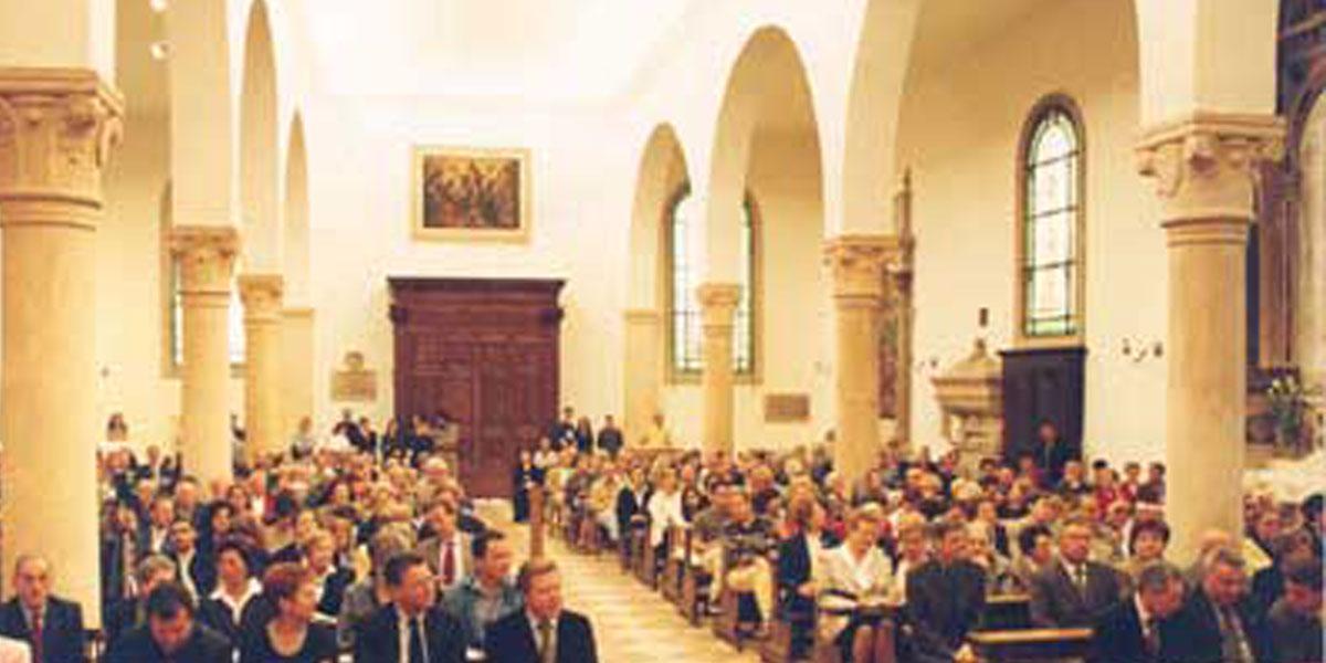 2000 maggio – Restauri Chiesa di San Pietro a Vicenza