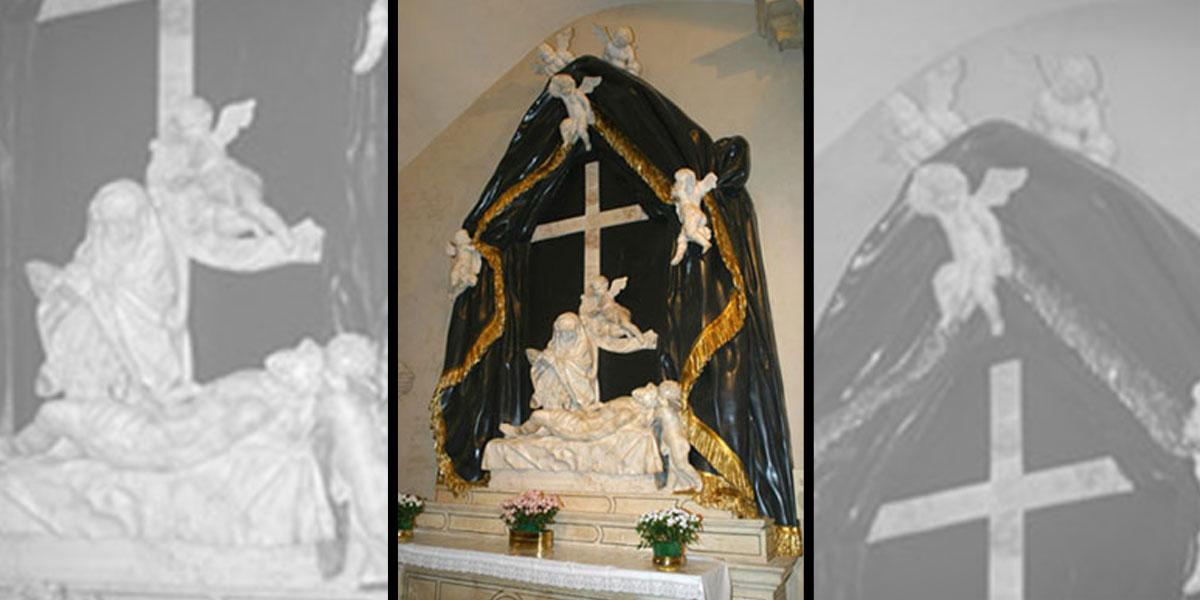 2003 marzo – Chiesa San Vincenzo: Altare della Pietà
