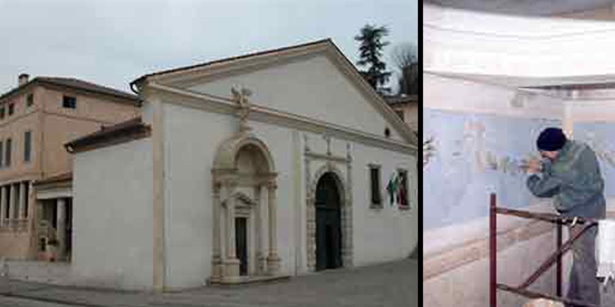 2004 aprile – Chiesetta degli Eroi a Montegalda