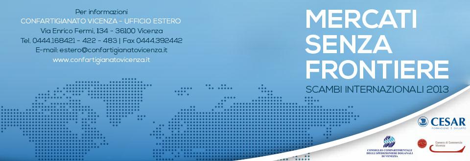 Mercati senza Frontiere 2013