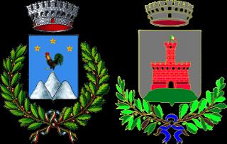 Stemmi di Recoaro Terme e Castelgomberto