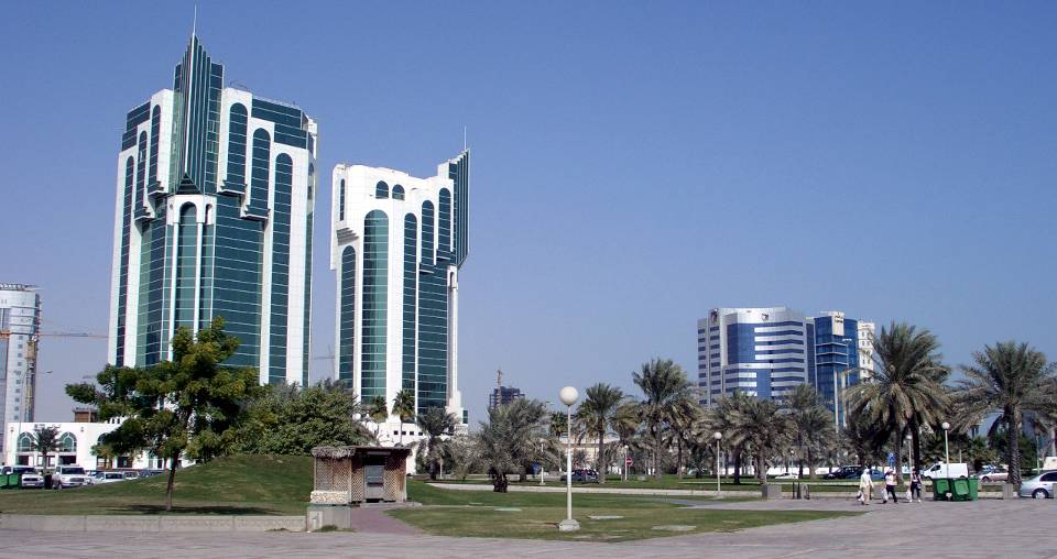 La capitale del Qatar, Doha. Foto di Ahmed Isse Haji e Mohamed Isse
