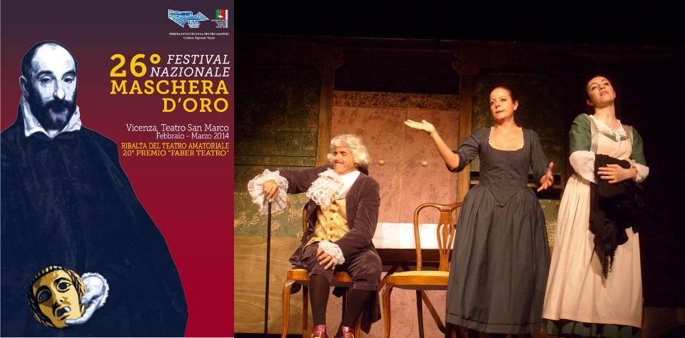«La buona madre» di Carlo Goldoni. Compagnia La Ringhiera di Vicenza, regia di Riccardo Perraro