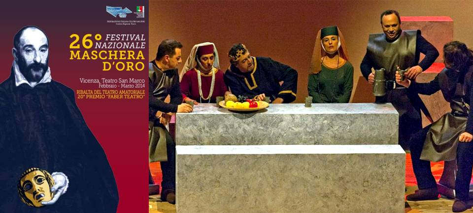 «Becket e il suo re» di Jean Anouilh - Compagnia La Trappola di Vicenza - Regia Pino Fucito
