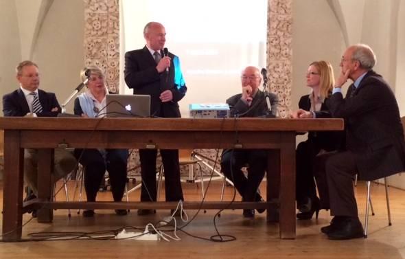 I relatori del convegno di Marostica su giovani e lavoro