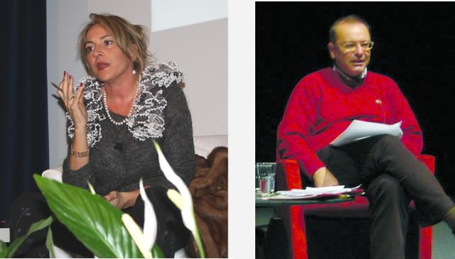 Daniela Lucangeli (5 maggio, Vicenza) e Osvaldo Poli (7 maggio, Valdagno)
