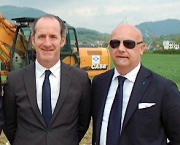 Luca Zaia e Gianluca Cavion