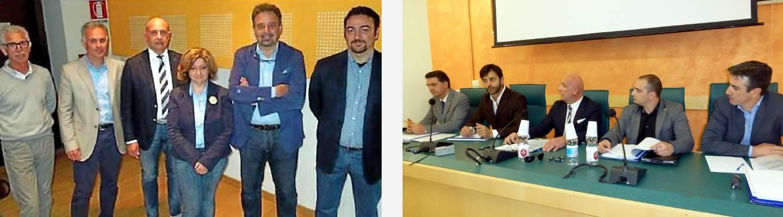 I candidati di Valdagno e quelli di Cornedo