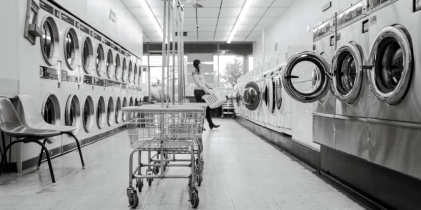 Una tintolavanderia - Foto di Hannes Grobe, Alfred Wegener Institute