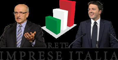 Giorgio Merletti - Matteo Renzi (foto Presidenza della Repubblica)