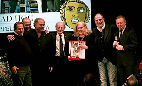 La premiazione dei vincitori