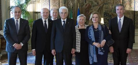 La delegazione Confartigianato in visita al Capo dello Stato