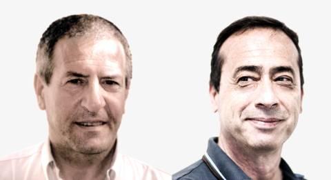 Alberto Olivieri e Lanfranco Santocchi