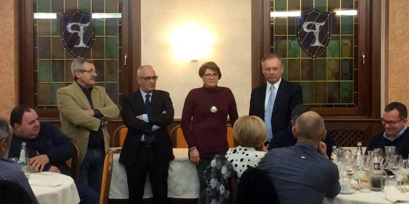 Maurizio Pellegrin, Mariano Miola, Marisa Giorio e Agostino Bonomo