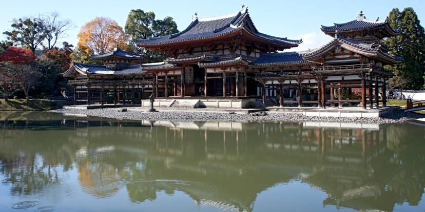 Lo hōōdō del Byōdō-in ad Uji vicino a Kyōto - Foto 663highland