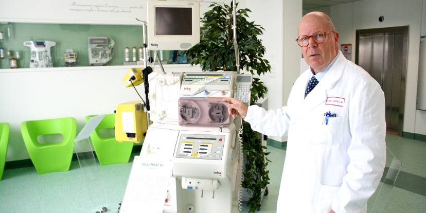 Il prof. Claudio Ronco