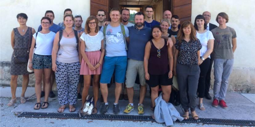 Il gruppo dei partecipanti