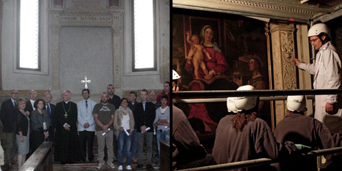 2012 Settembre – Restauro della cappella di Santa Caterina nel Duomo di Vicenza