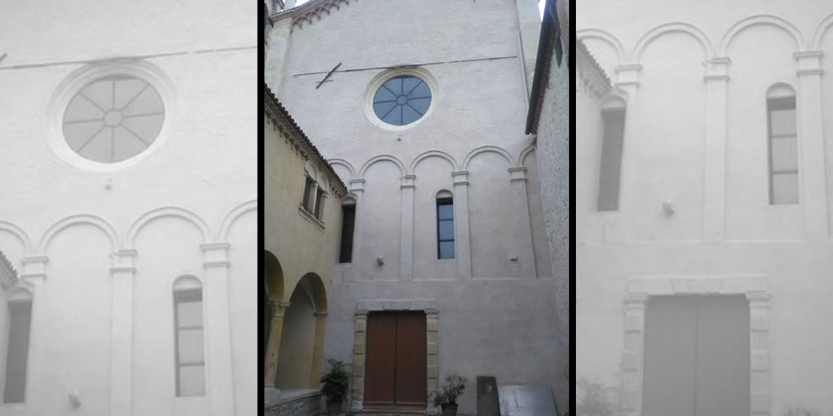 2017 giugno – Restauro facciata ovest Santuario Santa Maria dei Miracoli di Lonigo