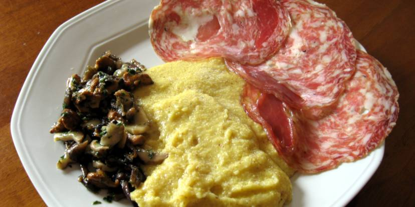 Un tipico piatto vicentino - Foto di GhePeU
