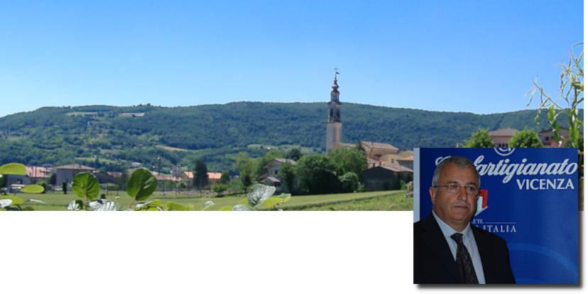 Panorama di San Germano dei Berici