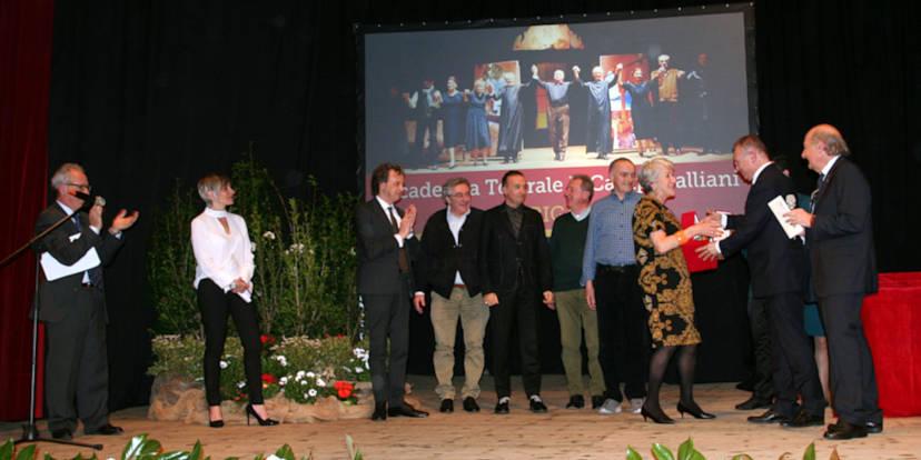 La premiazione della Compagnia Campogalliani di Mantova