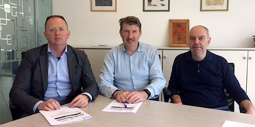Mosè Squarzon, Andrea Nardello e Maurizio Cogo