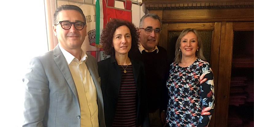 Nerio Dalla Vecchia, Maddalena Caselin, Franco Balzi e Virna Dalla Guarda