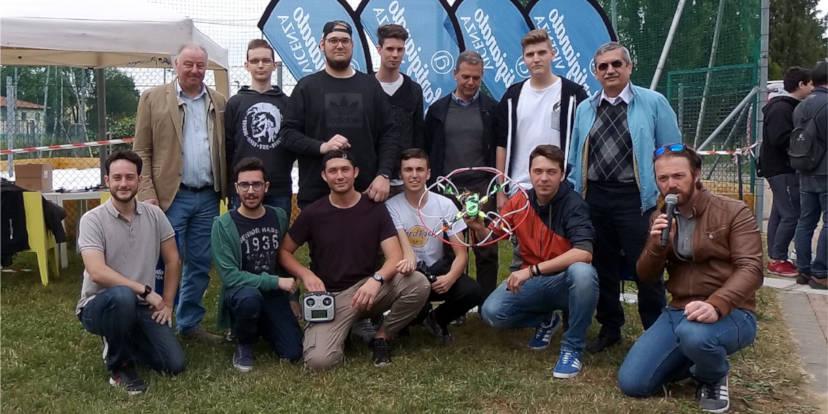 La squadra vincitrice del Drone War Game 2017