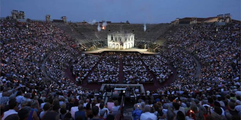 Foto Ennevi/Fondazione Arena di Verona