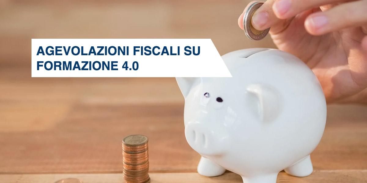 Agevolazioni fiscali su formazione 4.0