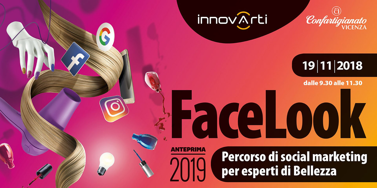 Facelook – Percorso di social marketing per esperti di bellezza