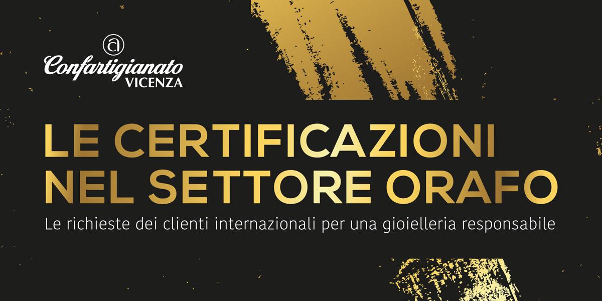 Le certificazioni nel settore orafo