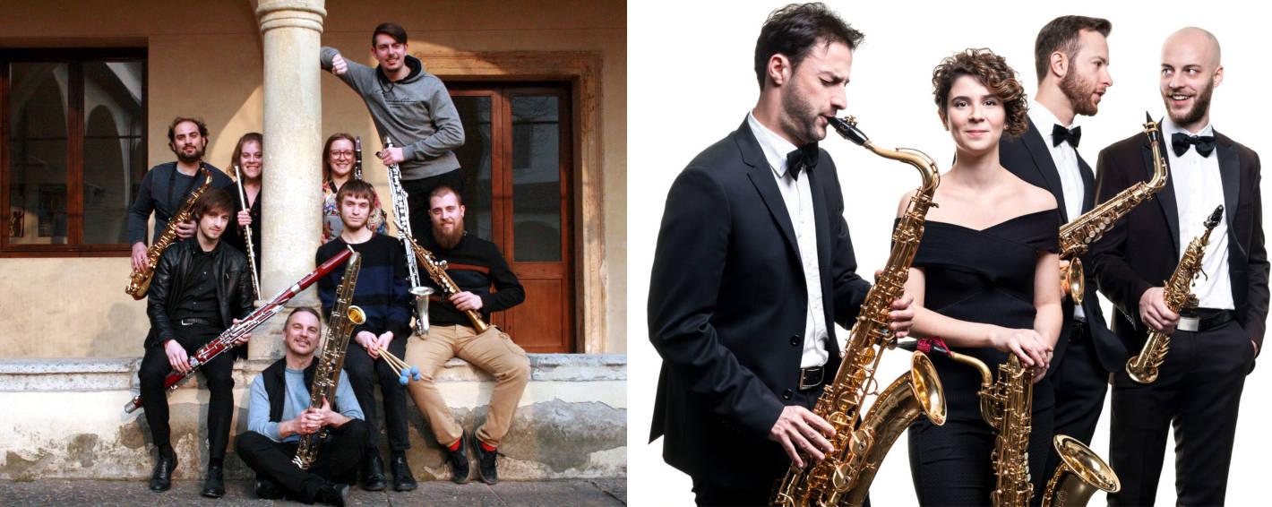 weird saxophone