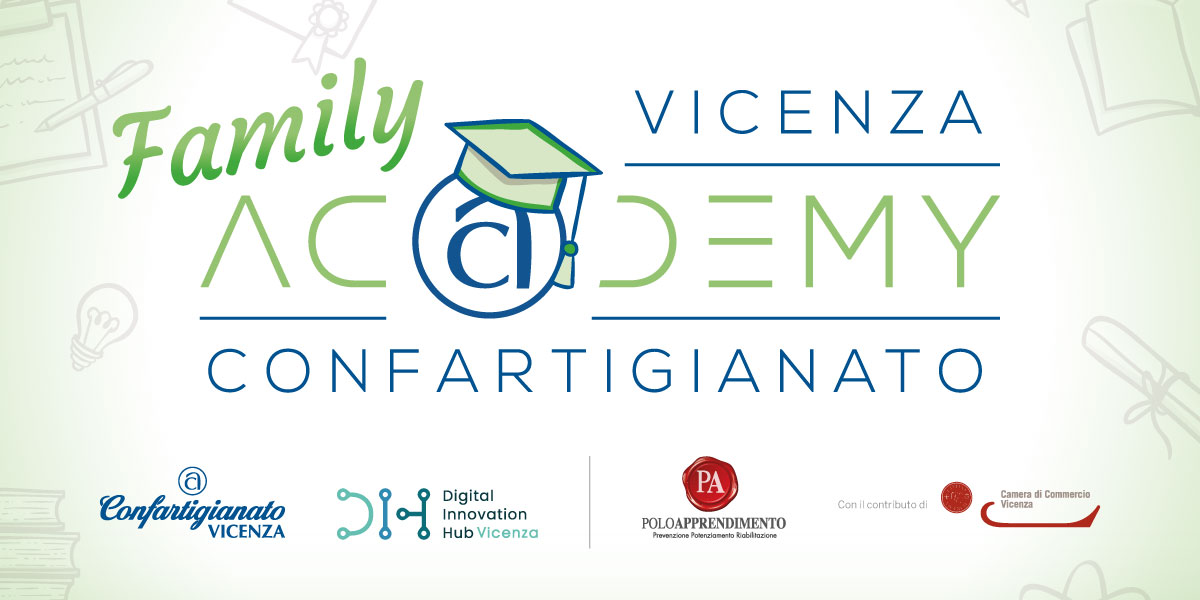 Polito Calendario 2020.Family Academy Confartigianato Vicenza Confartigianato