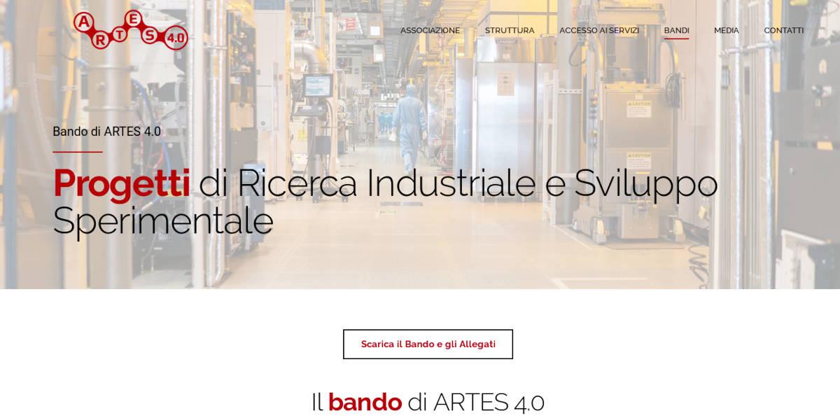 Finanziamenti per nuove tecnologie e digitale con il bando di Artes 4.0