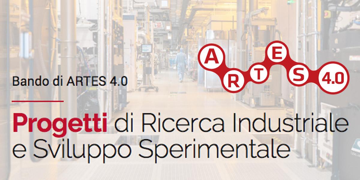 Bando Artes 4.0: Contributi per Progetti di Ricerca Industriale