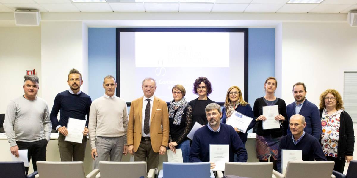 Scuola di Politica ed Economia di Confartigianato Vicenza: consegna attestati e nuova edizione