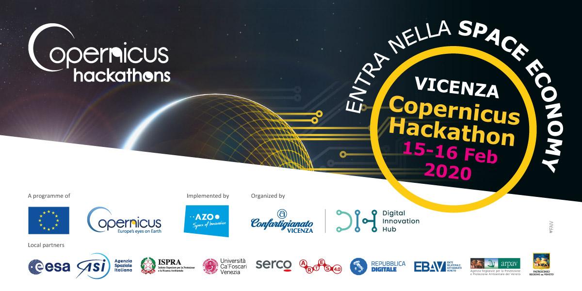 Domattina al Digital Innovation Hub prende il via l'unica tappa italiana del Copernicus Hackathon