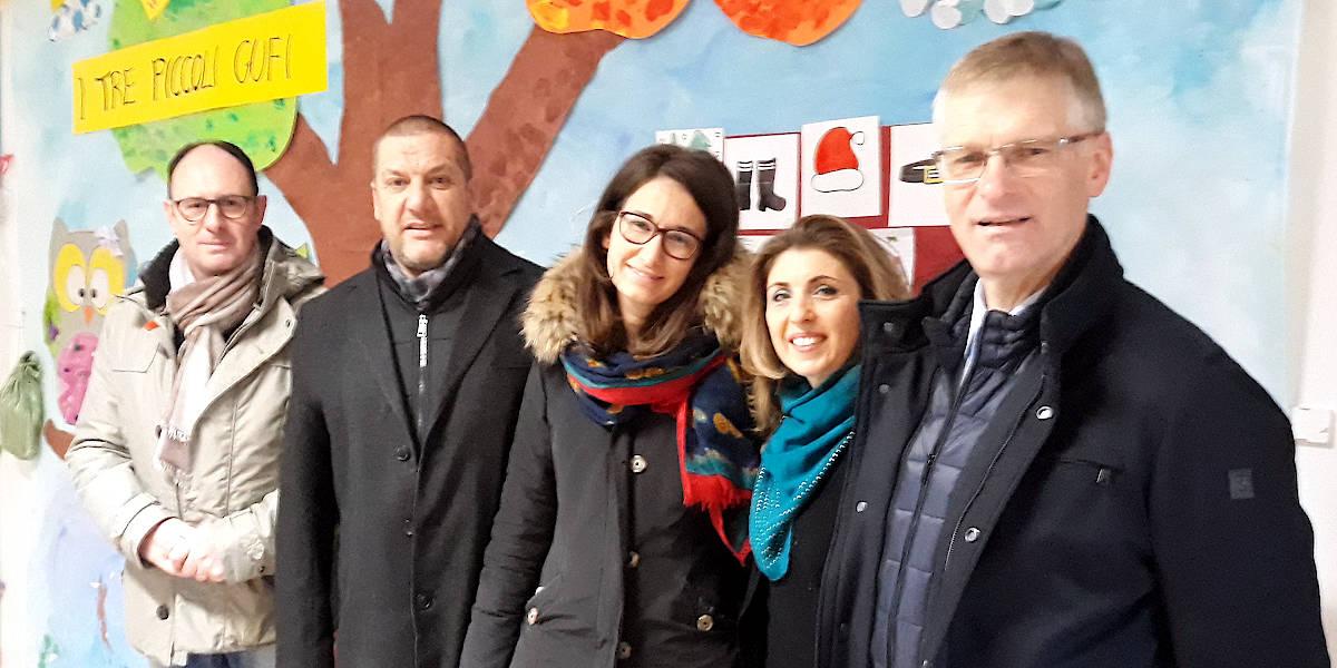 Confartigianato Vicenza dona libri alla scuola materna di Sarmego