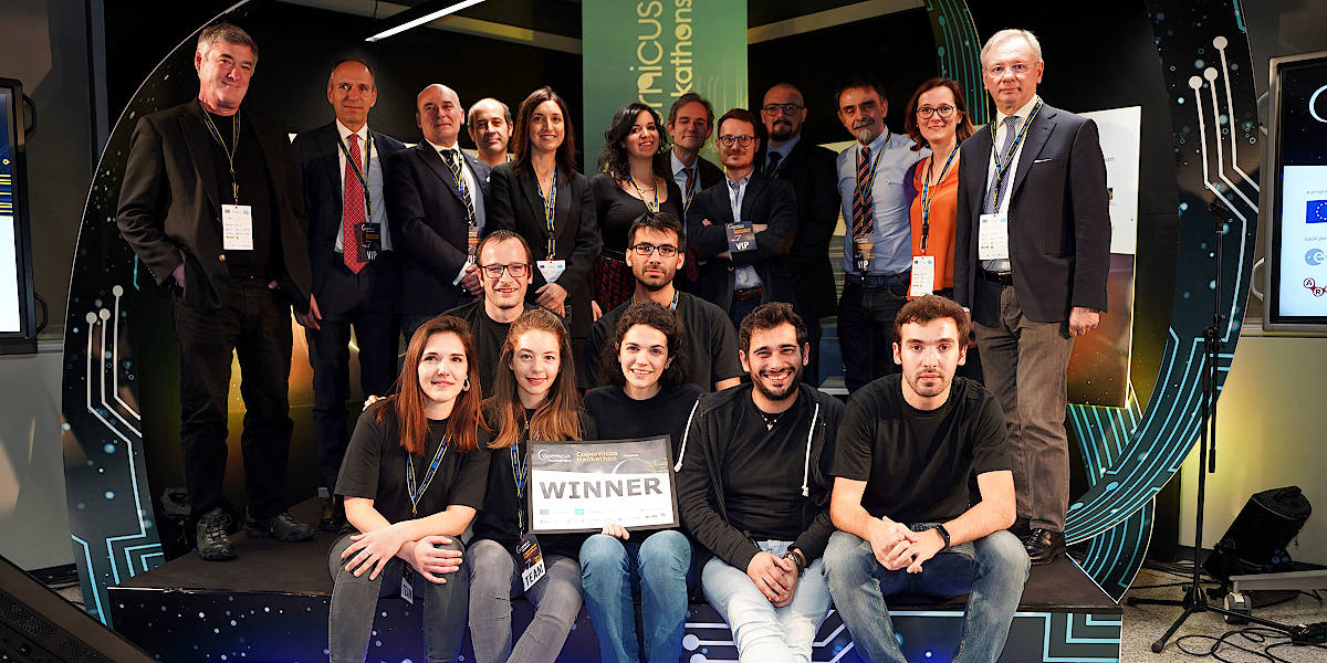 Il progetto S^3 si è aggiudicato il Copernicus Hackathon 2020 al DIH di Confartigianato Vicenza