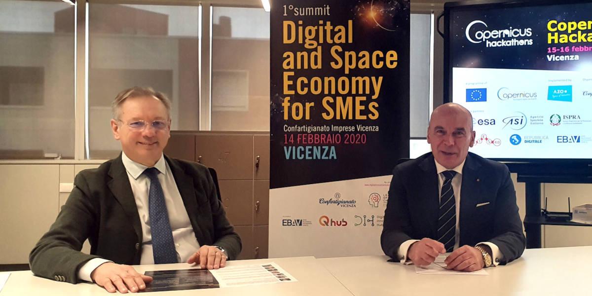Digital and Space Economy per le PMI. Un weekend tra summit e hackathon grazie a Confartigianato Imprese Vicenza e il suo Digital Innovation Hub