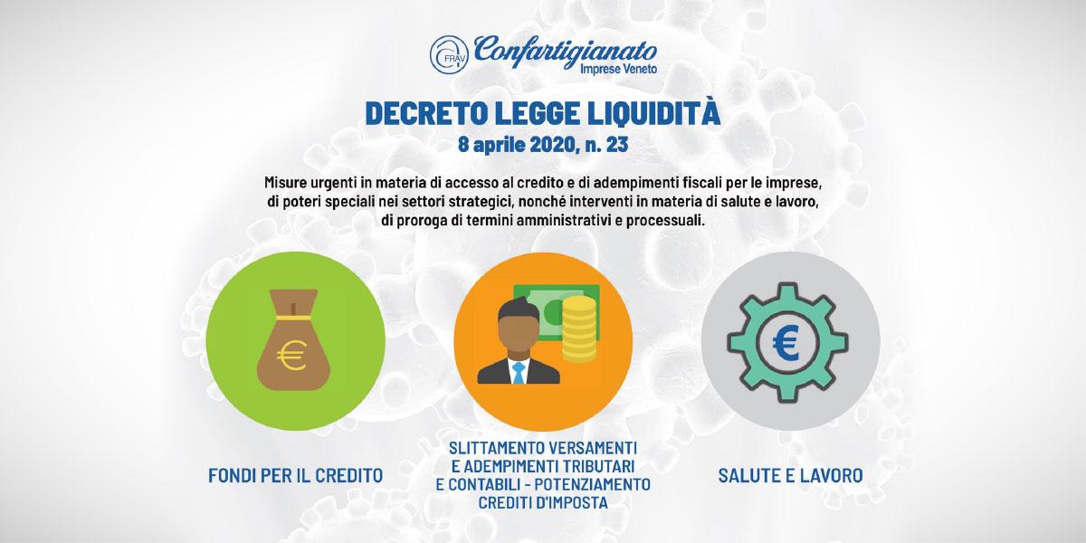 Decreto Legge Liquidità
