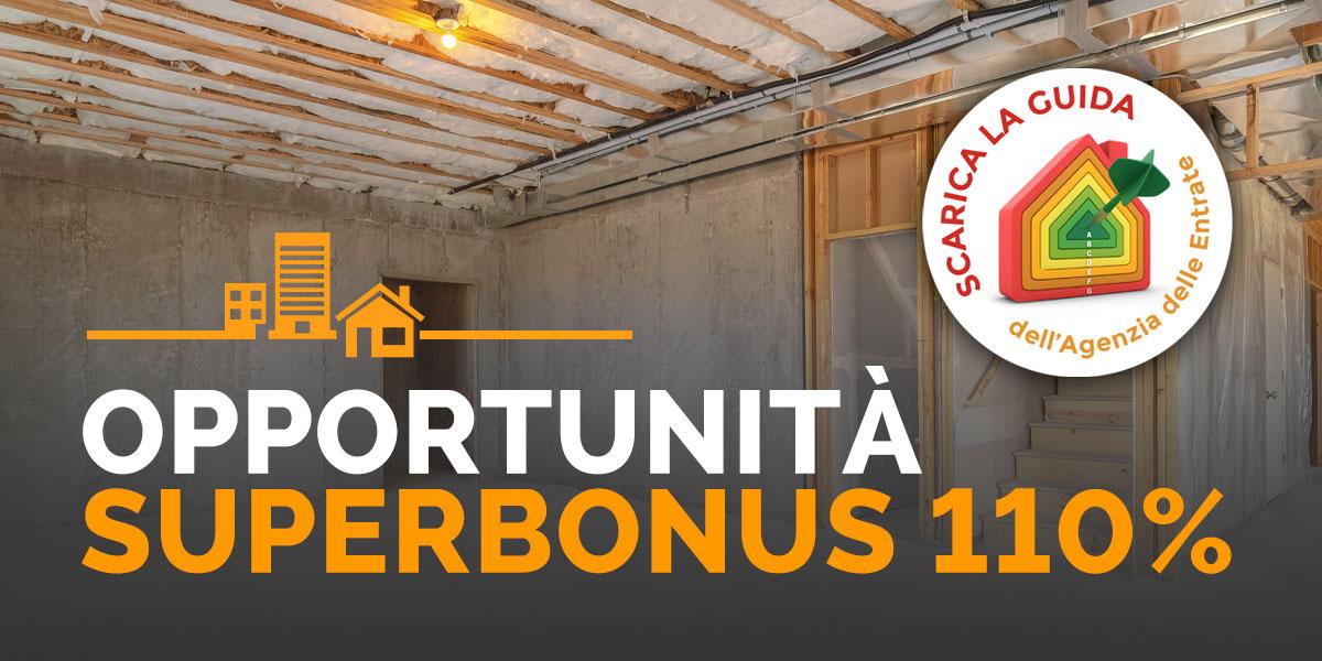 Opportunità Superbonus 110%